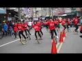 1060311大崙國小獨輪車隊參加梅山文化季踩街